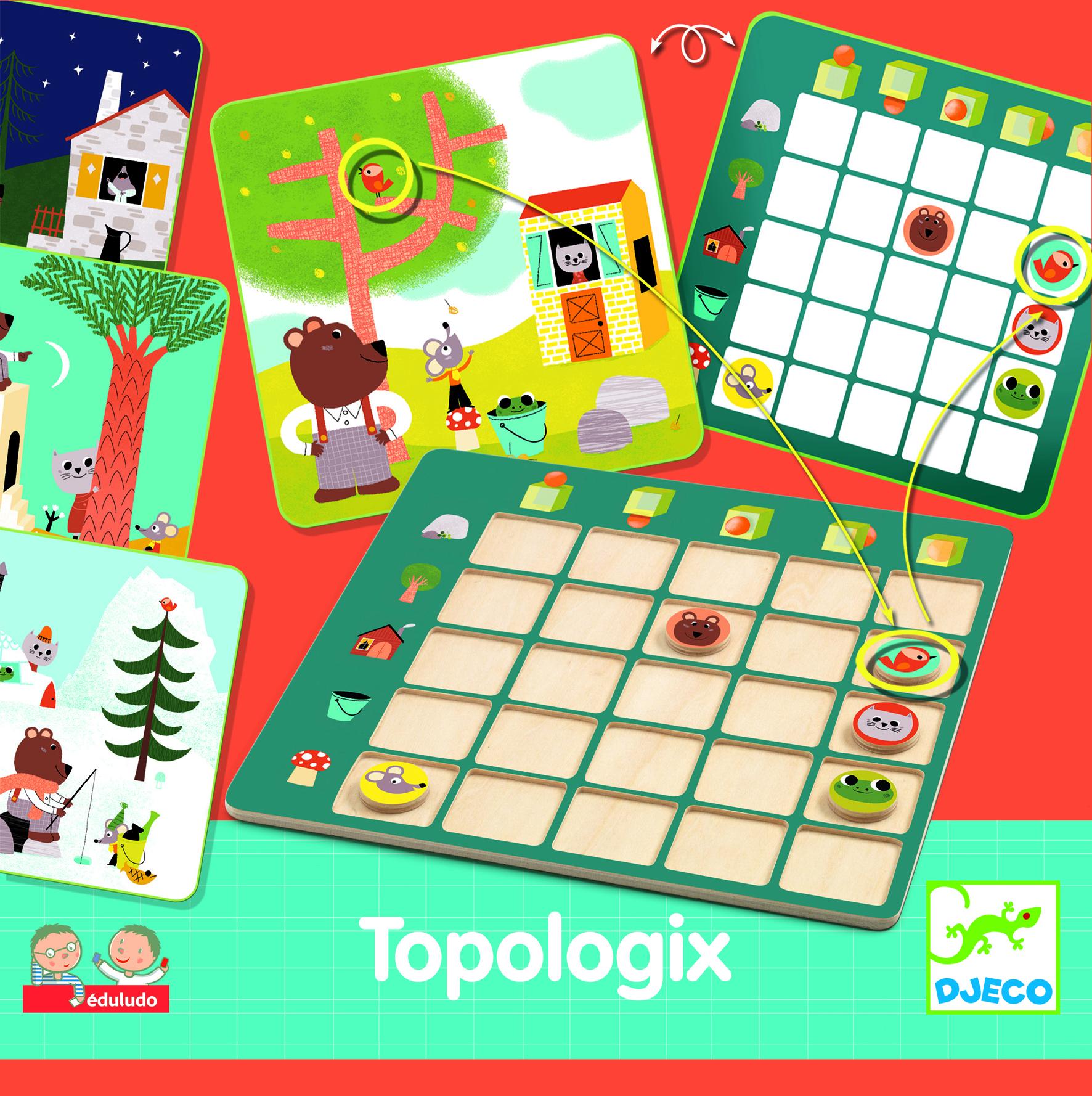 eduludo topologix - gra na spostrzegawczość