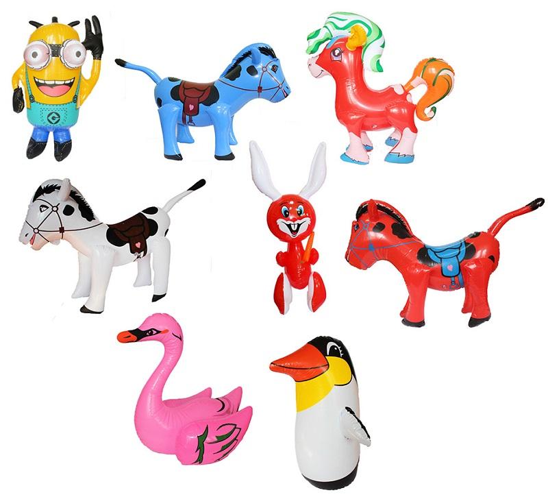 Zabawki dmuchane do wody - różne wzory.